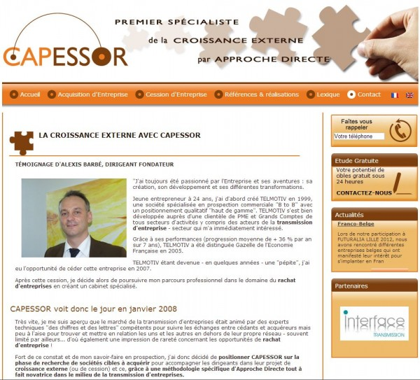 Croissance Externe avec Capessor
