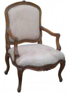 fauteuil ancien Louis XV